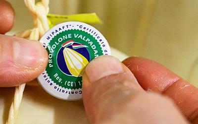 Dairies producers of Provolone Valpadana brand