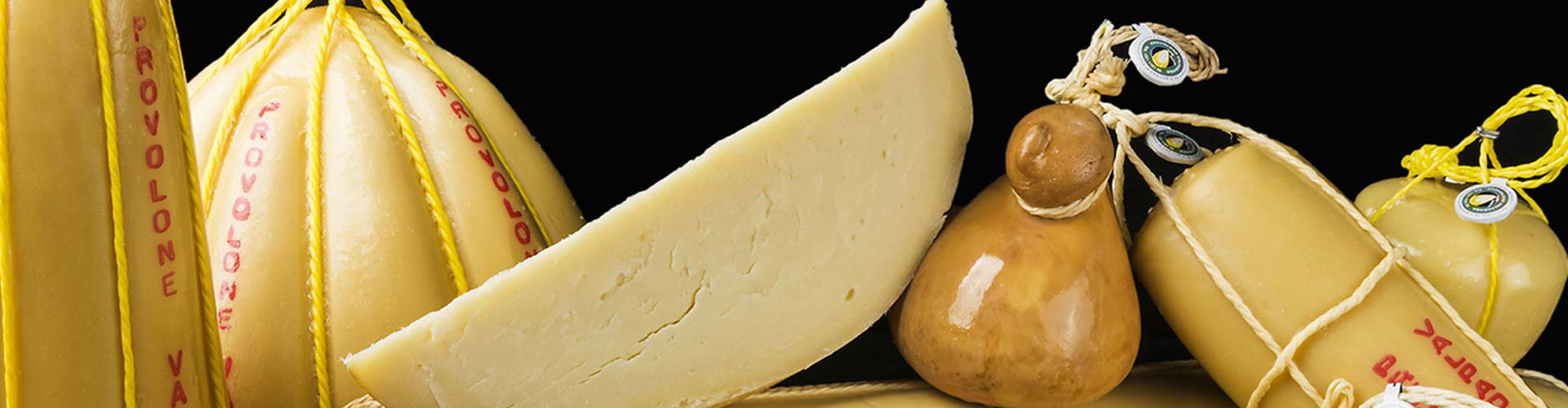 Shapes of Provolone Valpadana P.D.O.