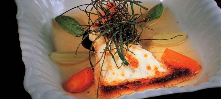Zuppa di pane, Provolone Valpadana, erbe di campo