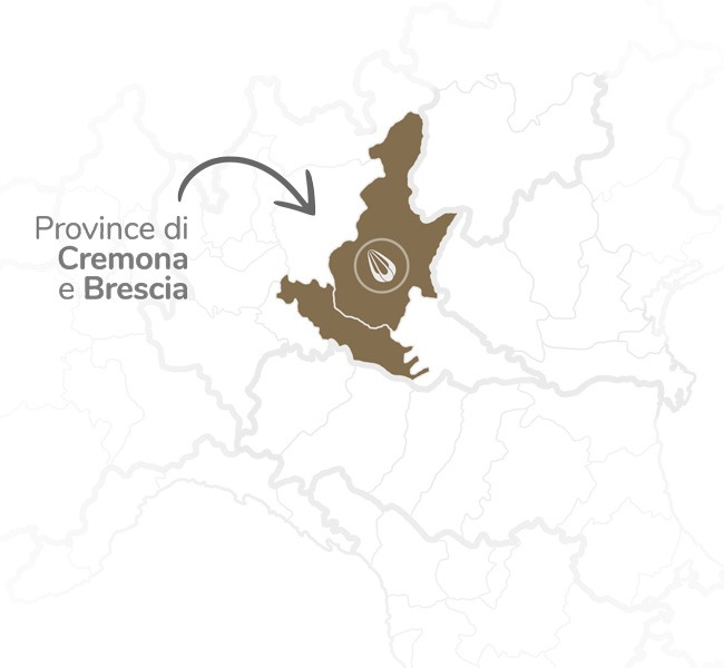 Production area Provolone Valpadana PDO