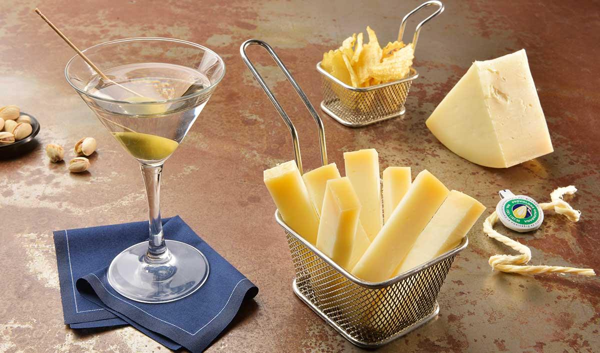 aperitivo sfizioso idee con Provolone Valpadana