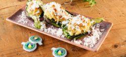 Oven-baked artichokes with strong Provolone Valpadana P.D.O.