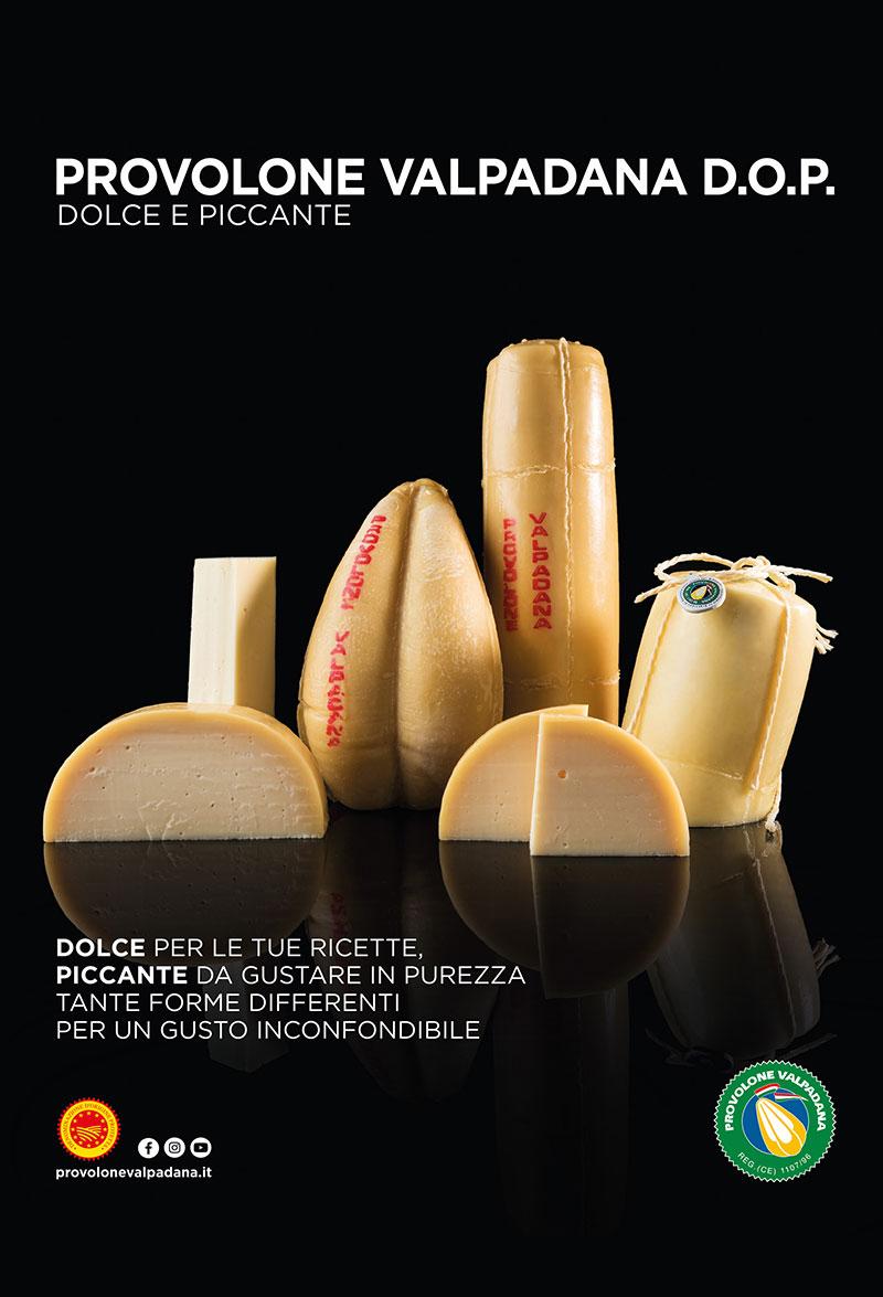 Campagne pubblicitarie 2020 Provolone Valpadana