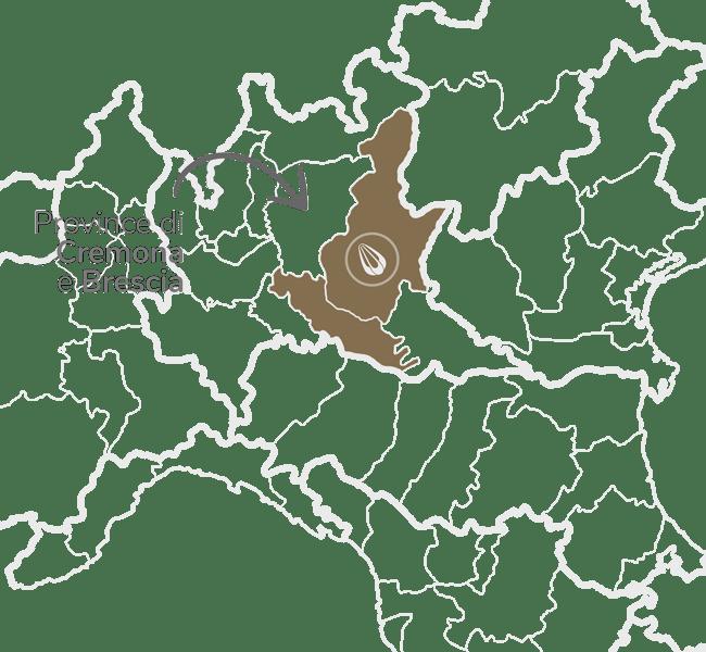 zona Provincia de Cremona y Brescia
