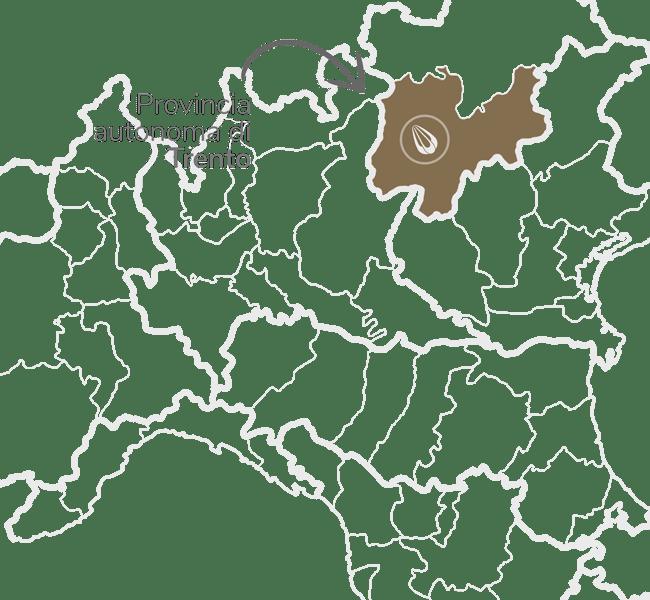 provolone zona Provincia autónoma de Trento