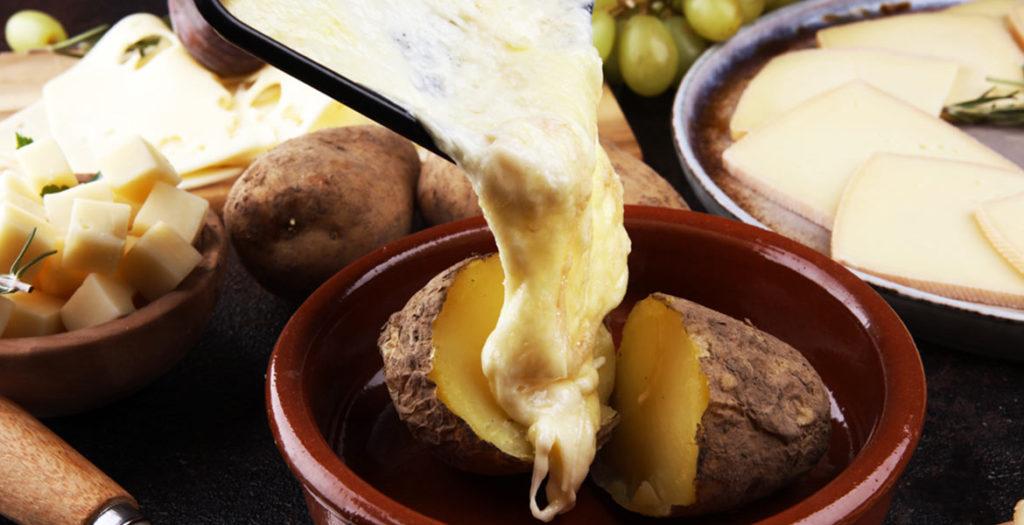 ricette dal mondo con formaggio Provolone Valpadana raclette