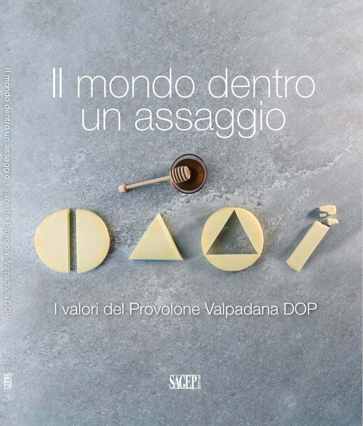 Materiale informativo Provolone Valpadana libro