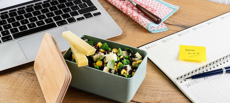 Venus rice salad with strong Provolone Valpadana