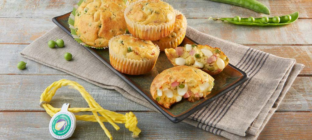 Ricette per pic-nic Muffin con Provolone Valpadana