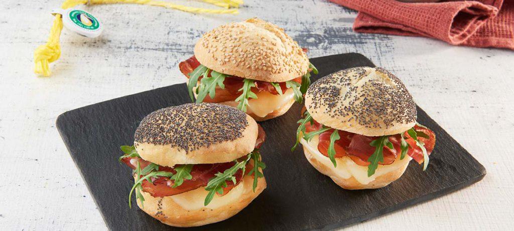 Ricette per pic-nic Panini con Provolone Valpadana e Speck